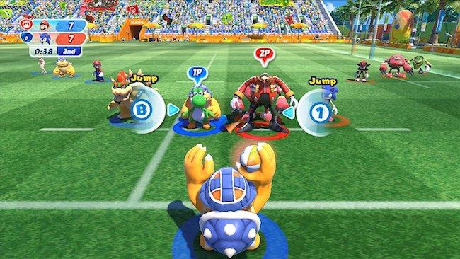 Mario Und Sonic Bei Den Olympischen Spielen Rio 2016