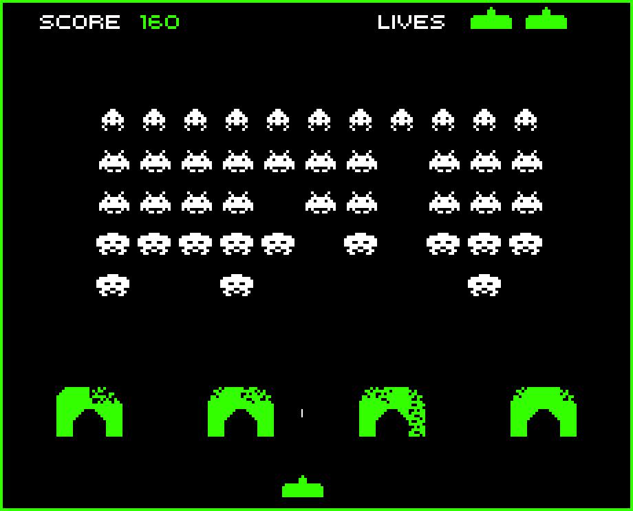 Space Invaders - Spieleratgeber NRW  Space Invaders Spaceship