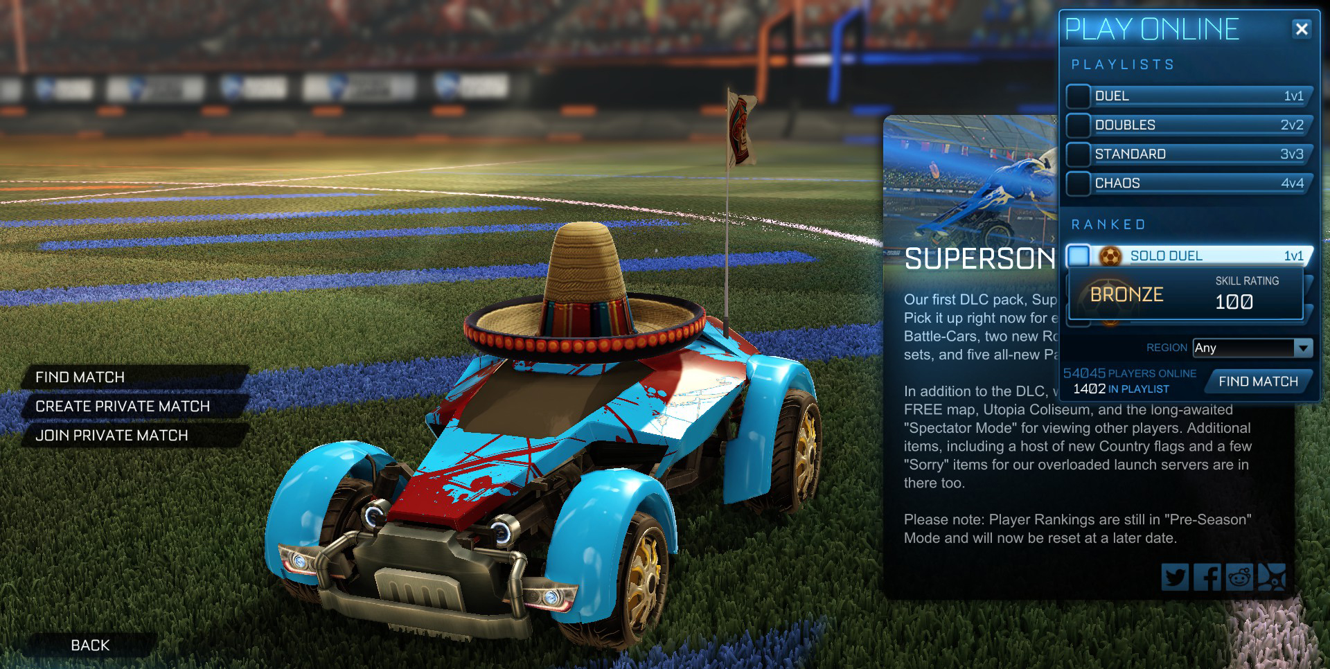 rocket league anforderungen